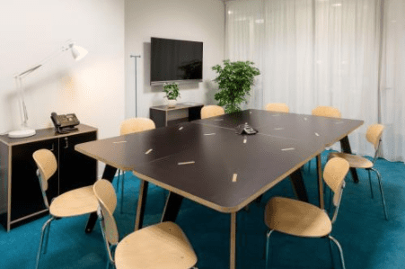 Black Meeting Room