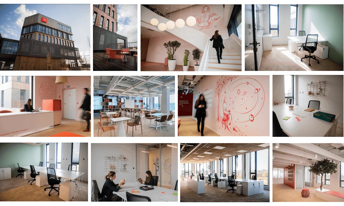 Newton Offices Haute Borne Villeneuve d'Ascq